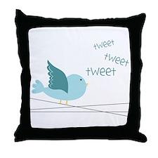 Bird Throw Pillow
