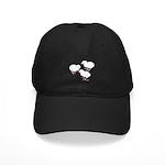 Guineas White Keets Black Cap