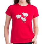 Guineas White Keets Women's Dark T-Shirt