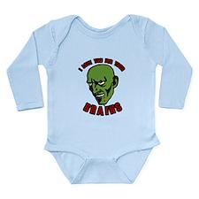 Zombie valentines Long Sleeve Infant Bodysuit