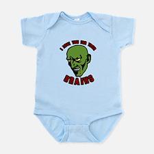 Zombie valentines Infant Bodysuit
