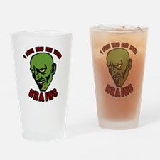 Zombie valentines Drinking Glass
