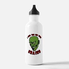 Zombie valentines Water Bottle