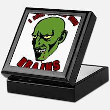 Zombie valentines Keepsake Box