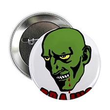 """Zombie valentines 2.25"""" Button"""