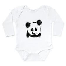 Panda Bear - ZooWhirlz Long Sleeve Infant Bodysuit