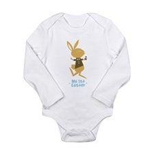 Baby Boy's First Easter Bunny Body Suit