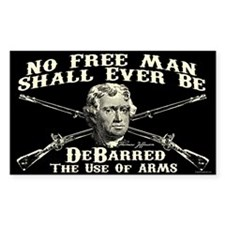 No Free Man Decal