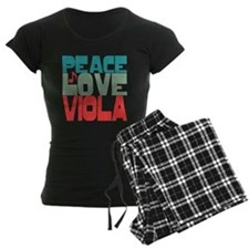 Peace Love Viola Pajamas