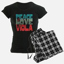 Peace Love Viola Pajamas