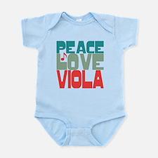 Peace Love Viola Onesie