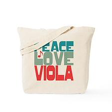 Peace Love Viola Tote Bag