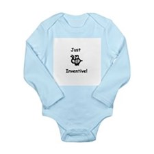 Just B Inventive Long Sleeve Infant Bodysuit