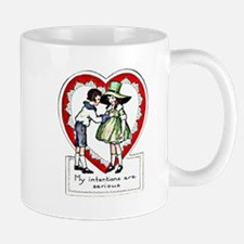 Funny Vintage Valentine Drink Mug