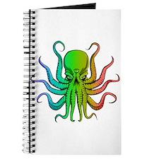 Pastel Rainbow Octopus Journal