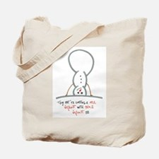 Turn it Around Tote Bag