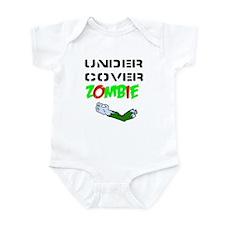 undercover zombie Infant Bodysuit