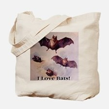 I Love Bats First Edition Tote Bag