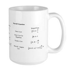 maxwells equations copy Mugs
