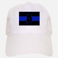 Thin Blue Line - Alabama Baseball Baseball Cap