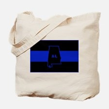 Thin Blue Line - Alabama Tote Bag