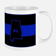 Thin Blue Line - Alabama Mug