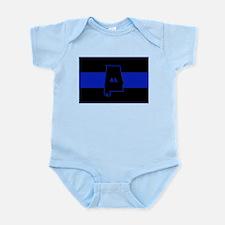Thin Blue Line - Alabama Infant Bodysuit