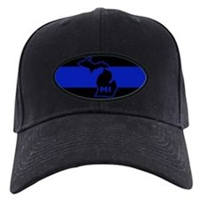 Michigan Thin Blue Line Baseball Hat