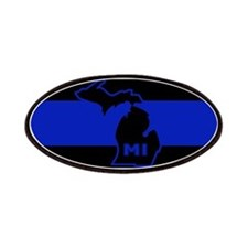Michigan Thin Blue Line Patches