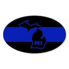 Michigan Thin Blue Line Stickers