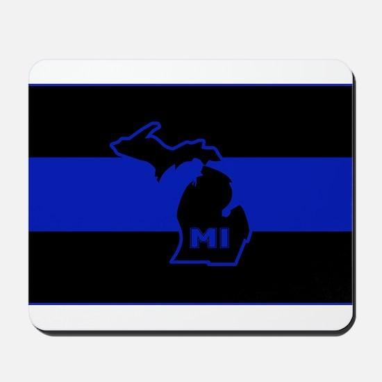 Michigan Thin Blue Line Mousepad