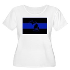 Michigan Thin Blue Line T-Shirt