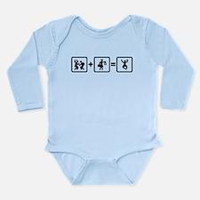 Office Worker Long Sleeve Infant Bodysuit