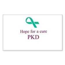 PKD cure Decal
