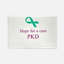 PKD cure Rectangle Magnet