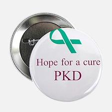 """PKD cure 2.25"""" Button (10 pack)"""