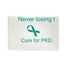 Never Losing Hope Rectangle Magnet