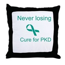 Never Losing Hope Throw Pillow