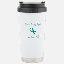 Never Losing Hope Stainless Steel Travel Mug