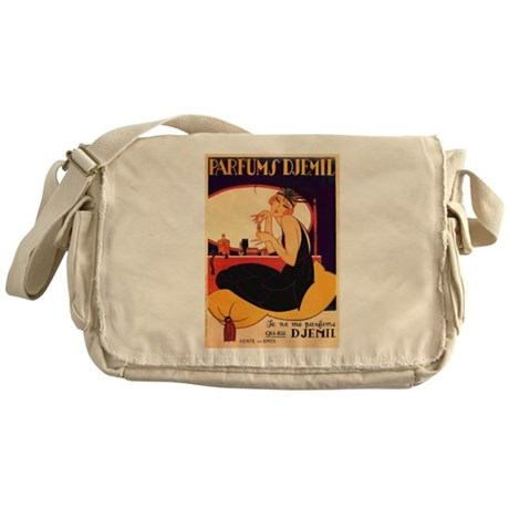 Vintage Art Reprint Messenger Bag