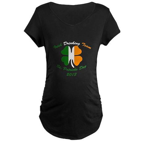St. Pats 2013 Maternity Dark T-Shirt