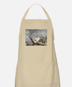 Painting of a Winter Scene Apron