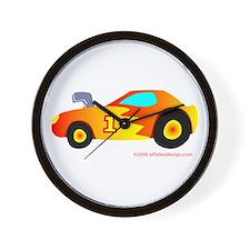 Wee Hot Rod! Wall Clock
