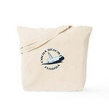 Cocoa Beach - Space Shuttle Design. Tote Bag