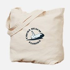 Cocoa Beach - Space Shuttle Design. Tote Bag