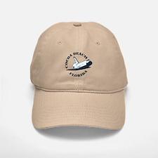 Cocoa Beach - Space Shuttle Design. Baseball Baseball Cap