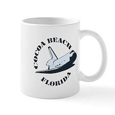 Cocoa Beach - Space Shuttle Design. Small Mug