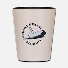 Cocoa Beach - Space Shuttle Design. Shot Glass