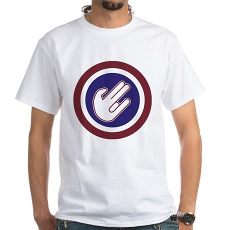 The Shocker White T-Shirt