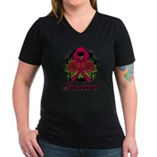 Brain Aneurysm Survivor Rose Tattoo Shirt